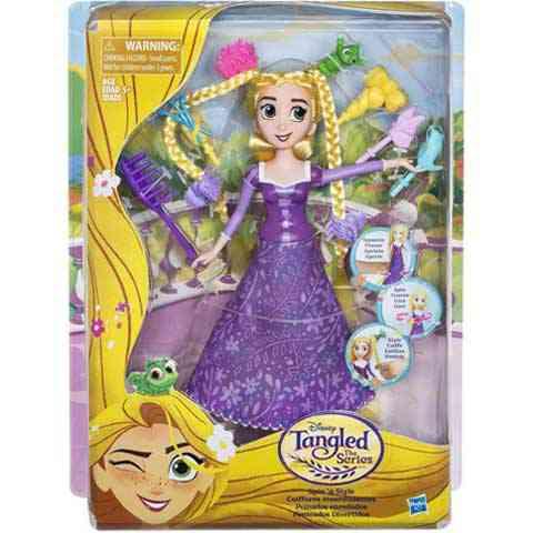 Disney Hercegnők Aranyhaj a sorozat hajdíszítő baba - Hasbro ... 974e8f22e3