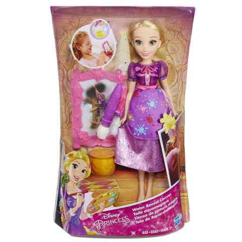 Disney Hercegnők Aranyhaj baba mágikus festő szettel - Hasbro ... c76f1259e4