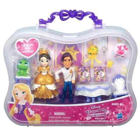 Disney Hercegnők Aranyhaj királyi esküvője mini szett - Hasbro ... 29a0277732