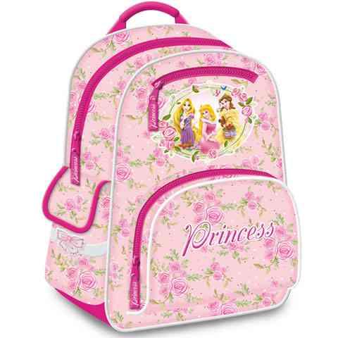 Disney Hercegnős gerinckímélő iskolatáska hátizsák sok rekesszel ... 6d6d38b602