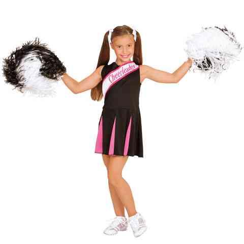 a422b685f0 Fekete-pink pom-pom lány jelmez 128-as méret vásárlás a Játékshopban