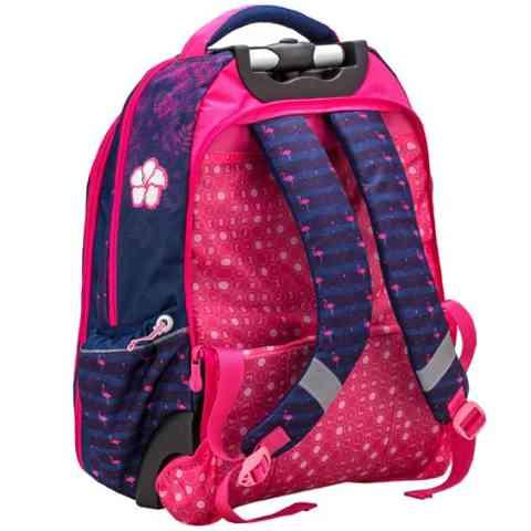 f199a1d441b1 ... hátizsák 47x33x20cm Belmil: Flamingo gurulós iskolatáska, hátizsák  47x33x20cm