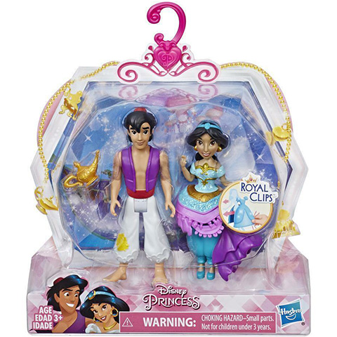 e2520a435d Disney Hercegnők Jázmin és Aladdin öltöztethető figuraszett - Hasbro ...