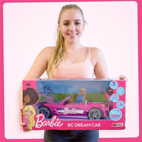Barbie Rozsaszin Alomauto 2 4ghz Taviranyitos Auto Mondo Motors Vasarlas A Jatekshopban