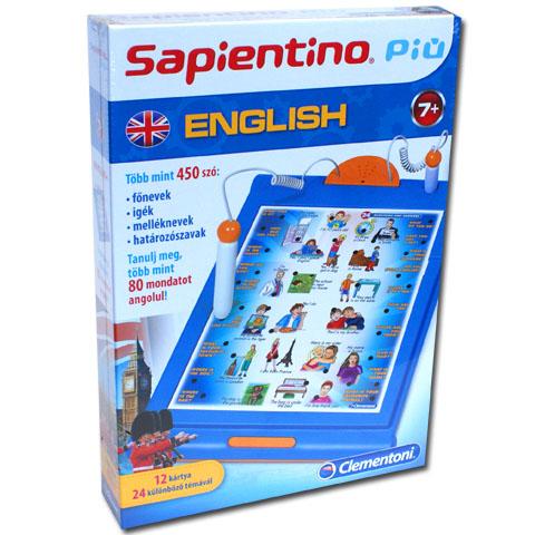 Sapientino Játékos angol társasjáték - Clementoni vásárlás a ... cfff21ada2