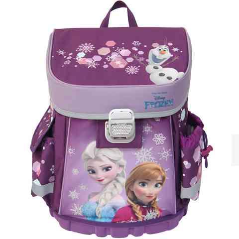 Jégvarázs iskolatáska ergonomikus hátizsák Elsa és Anna