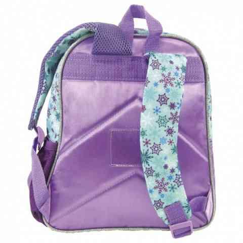 ed9774a2c6ee ... Jégvarázs ovis hátizsák kék-lila színben 30 cm x 24 cm x 12 cm