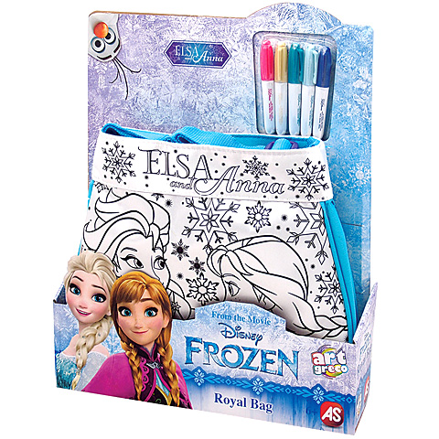 Jégvarázs színezhető táska vásárlás a Játékshopban 301bb6556b