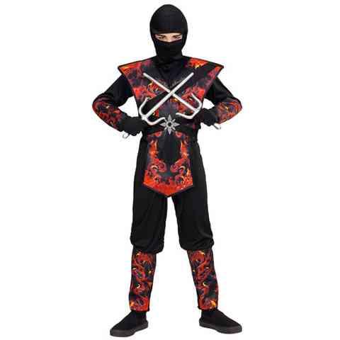 cc4f229403 Lángoló sárkány ninja jelmez 140-es méret vásárlás a Játékshopban