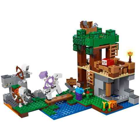ceb4852caf78 LEGO® Minecraft Csonthadsereg támadás (21146) vásárlás a Játékshopban