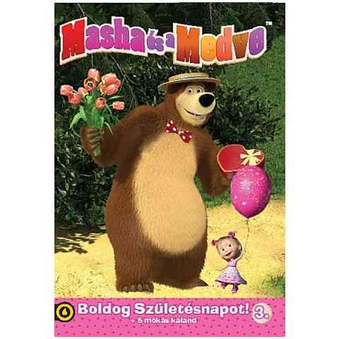boldog születésnapot dvd Mása és a Medve 3.   Boldog Születésnapot! DVD vásárlás a Játékshopban boldog születésnapot dvd