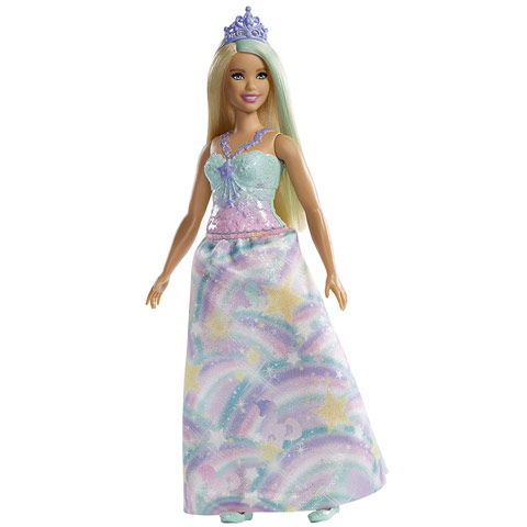 Barbie - Dreamtopia  Szőke hajú hercegnő dce8fb1c61