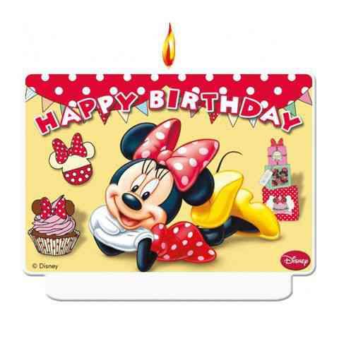 disney szülinapi képeslapok Minnie Cafe szülinapi dekor gyertya vásárlás a Játékshopban disney szülinapi képeslapok
