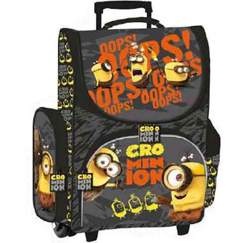 Minyonos húzható iskolatáska hátizsák szürke színben vásárlás a ... 2976d0213b