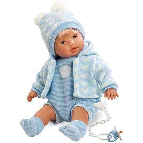 Nico fiú baba kötött ruhában 48cm vásárlás a Játékshopban a2194d27c6