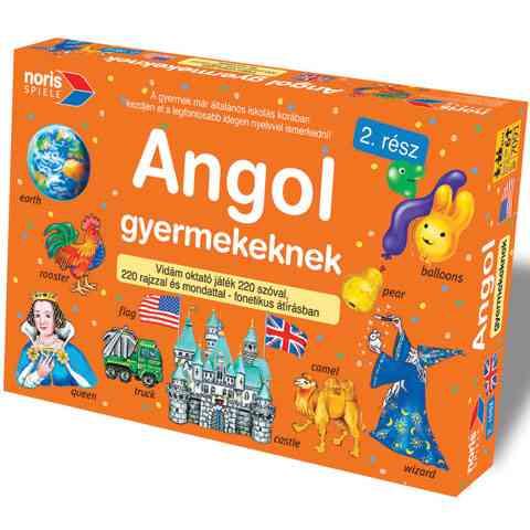 Angol Gyermekeknek II. rész - Noris vásárlás a Játékshopban 61ed2e2b92