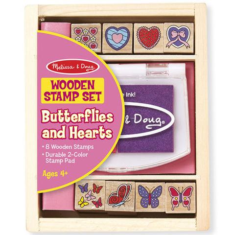 4c7bcd19c4 Pillangó és szív fa nyomda készlet - Melissa & Doug vásárlás a ...