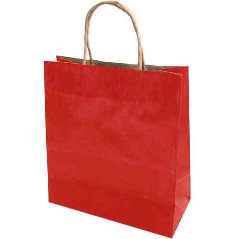bc506370a127 Piros színű extra nagy papír díszzacskó 42x31x11cm vásárlás a ...