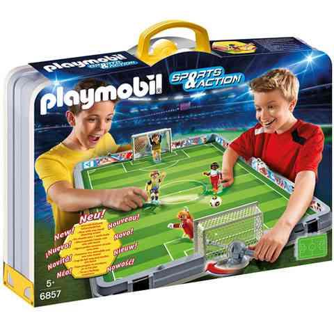 Playmobil: Hordozható focipályám (6857)