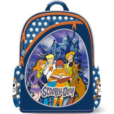 Scooby Doo iskolatáska hátizsák sok rekesszel vásárlás a Játékshopban 947b6aabca