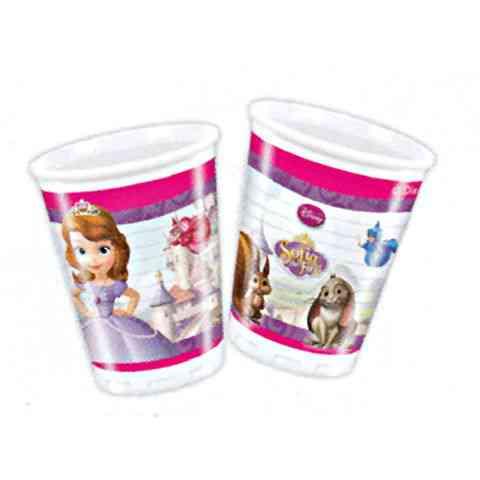 Disney Szófia műanyag pohár 200ml 8db-os vásárlás a Játékshopban 6bbcd45687