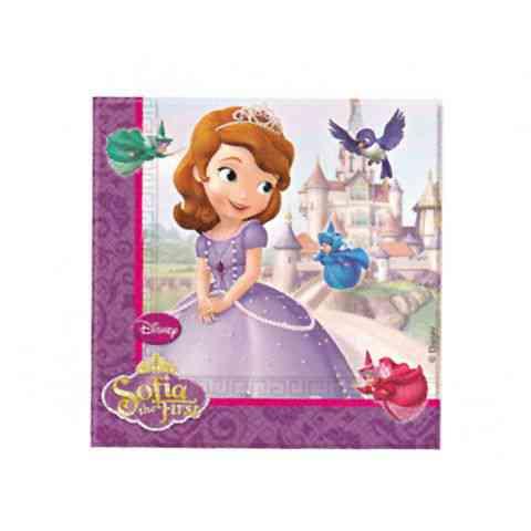 Disney Szófia papírszalvéta 33x33cm vásárlás a Játékshopban b172a667ca