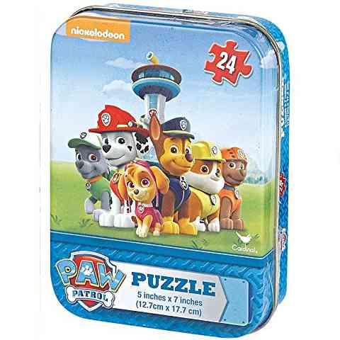 Mancs őrjárat 24db-os 3D mini Puzzle fém dobozban 092fd44699