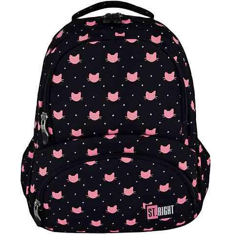 3cd06ab8ce2f St.Right Cicás iskolatáska hátizsák 17' vásárlás a Játékshopban