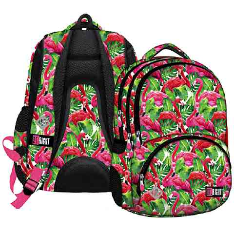 St.Right Flamingós iskolatáska hátizsák 17