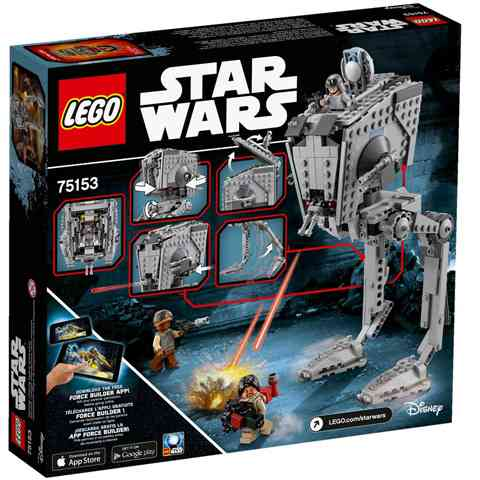 LEGO® Star Wars™: AT-ST lépegető (75153)