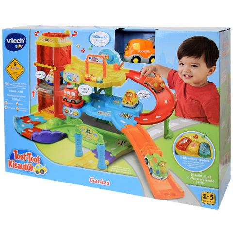 75e0ed578944 Toot-Toot Kisautók Garázs szett - V-Tech vásárlás a Játékshopban