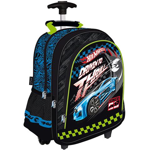 02e402f57d75 Hot Wheels három rekeszes gurulós hátizsák vásárlás a Játékshopban