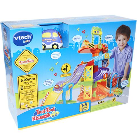 5b4c415b3951 Toot-toot kisautók Parkolóház játékszett - Vtech vásárlás a Játékshopban