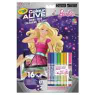 Crayola: Color Alive Barbie szupersztár interaktív kifestő