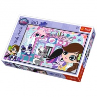 Littlest Pet Shop 160 db-os puzzle - Trefl