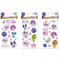 Littlest Pet Shop matrica 3 féle 76x160mm