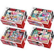 Minnie egér 54db-os mini puzzle - Ttrefl