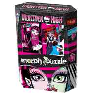 Monster High 50 db-os holografikus puzzle - Trefl