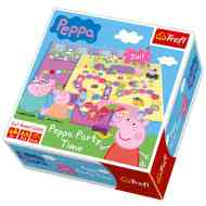 Peppa malac: Party time társasjáték - Trefl