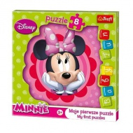 Baby Fun Minnie álma 8db-os puzzle