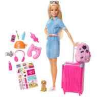 9078210f92 Raktáron 3+ Barbie - Dreamhouse Adventures: Barbie baba utazó  kiegészítőkkel - Mattel 7 299 ft