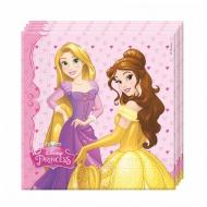 Disney Hercegnő Aranyhaj és Belle party két rétegű papírszalvéta 33x33cm  20db-os szett 608a1c2b24
