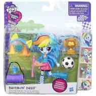 Én kicsi pónim: Equestria Girls Minis Rainbow Dash party szett - Hasbro