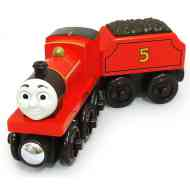 Fisher-Price Thomas: James fa mozdony - Mattel