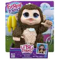 FurReal Friends: Giddy majmocska interaktív plüss - Hasbro