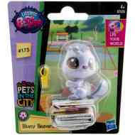 Littlest Pet Shop: Bluesy Beaverton figura 4cm