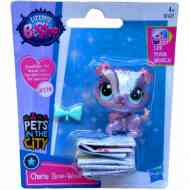 Littlest Pet Shop: Cherie Bow-Wow figura 4cm