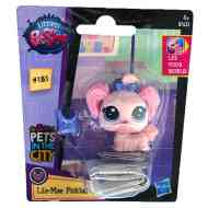 Littlest Pet Shop: Lila-Mae Pinktail figura 4cm