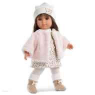 5b12442e04 Elena lány baba kötött ruhában 35cm vásárlás a Játékshopban