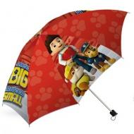 Mancs őrjárat összecsukható piros esernyő 45cm